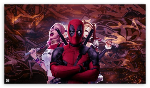 <b>Deadpool</b> looking at the city HD <b>desktop wallpaper</b> : Widescreen ...