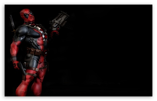 <b>Deadpool</b> with a gun in the rain HD <b>desktop wallpaper</b> : Widescreen ...