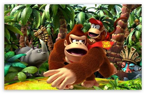 Free Wallpaper Donkey Kong