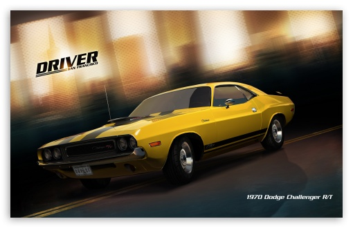 Driver San Francisco 1970 Dodge Challenger RT wallpaper for Wide 16:10 5:3