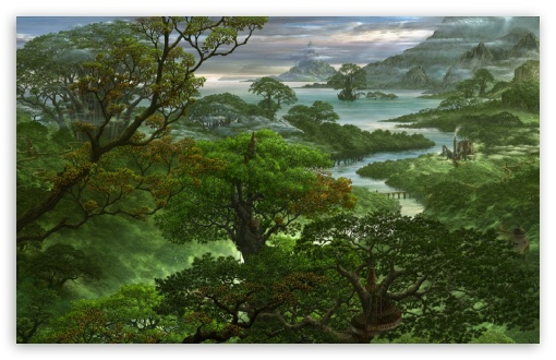 desktop wallpaper jungle. 2 Fantasy Jungle wallpaper for