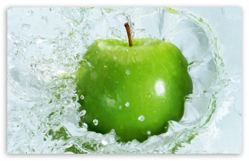 wallpaper green apple. Fresh Green Apple wallpaper