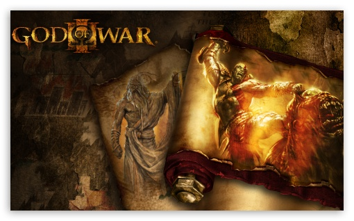 <b>God Of War 3</b> Blade Olympus <b>Wallpaper</b> - WallDevil