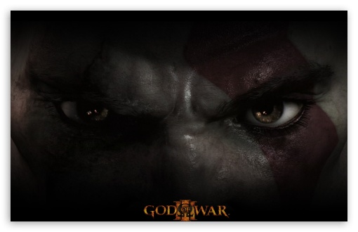 wallpaper eyes. God of War 3 Wallpaper