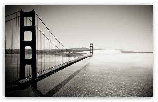 golden gate bridge black and white pictures. 4 Golden Gate Bridge Black And