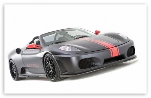 Hamann Ferrari F430 Black Miracle wallpaper for Wide 16:10 5:3 Widescreen