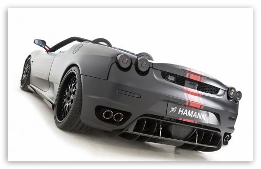 Hamann Ferrari F430 Black Miracle 9 wallpaper for Wide 16:10 5:3 Widescreen