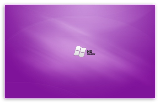 Windows Wallpaper Hd Widescreen. HD Purple Desktop Vista
