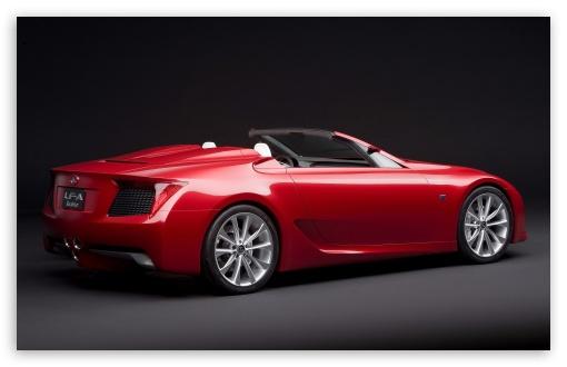 Lexus LF A Roadster Car wallpaper for Wide 16:10 5:3 Widescreen WHXGA