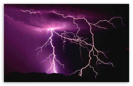 Lightning Storm wallpaper for Other 3:2 DVGA HVGA HQVGA devices ( Apple