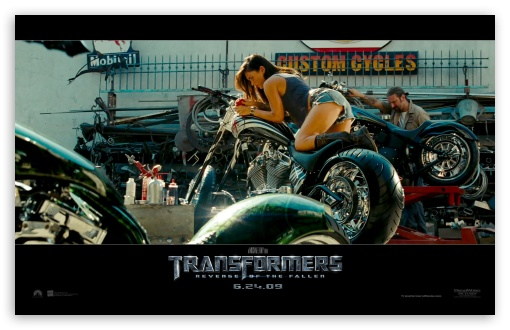 megan fox transformers 2 wallpaper. 5 Megan Fox 2009 Transformers