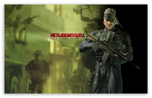 metal gear wallpaper. Metal Gear Solid Guns Of The