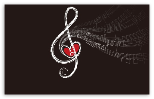 Desktop Wallpaper Music Notes. 6 Musical Notes wallpaper for