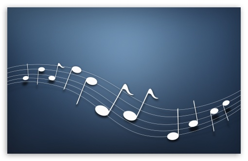 4 Musical Notes Background HD wallpaper for Wide 1610 Widescreen WHXGA