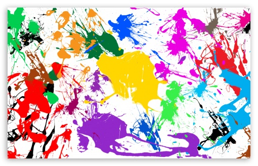 Paint Splatter wallpaper for HD 16:9 High Definition WQHD QWXGA 1080p 900p