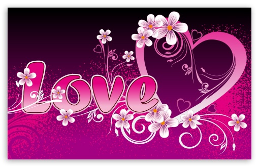 Pink Backgrounds For Desktop. Pink Love wallpaper for Wide