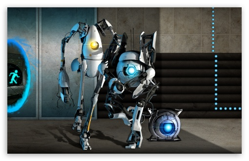 portal wallpaper hd. hd portal 2 background.