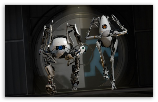 portal 2 glados wallpaper. girlfriend Portal2: GLaDOS and