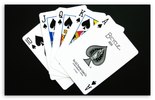 Poker in Flush Picture