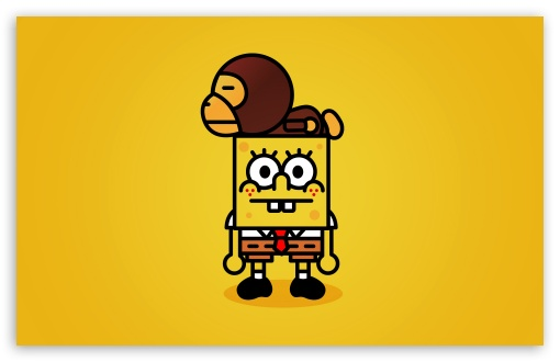 spongebob desktop wallpaper. 2 Spongebob wallpaper for Wide
