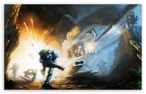 Starcraft 2 Battle wallpaper