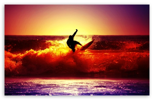 Surfing HD desktop wallpaper : Mobile : Dual Monitor
