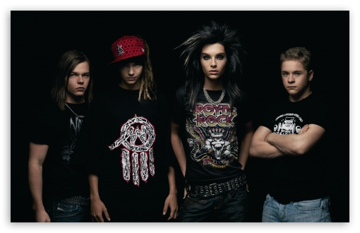 Tokio Hotel 2012 HD wallpaper
