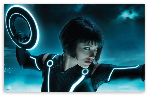 3 Tron Legacy, Olivia Wilde As Quorra wallpaper for Standard 4:3 5:4