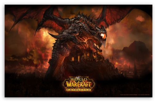 World Of Warcraft, Cataclysm wallpaper for Standard 4:3 5:4 Fullscreen UXGA