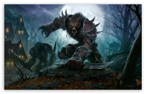 world of warcraft cataclysm worgen wallpaper. 3 Wow Cataclysm Worgen